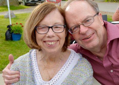 Debbie & Steve