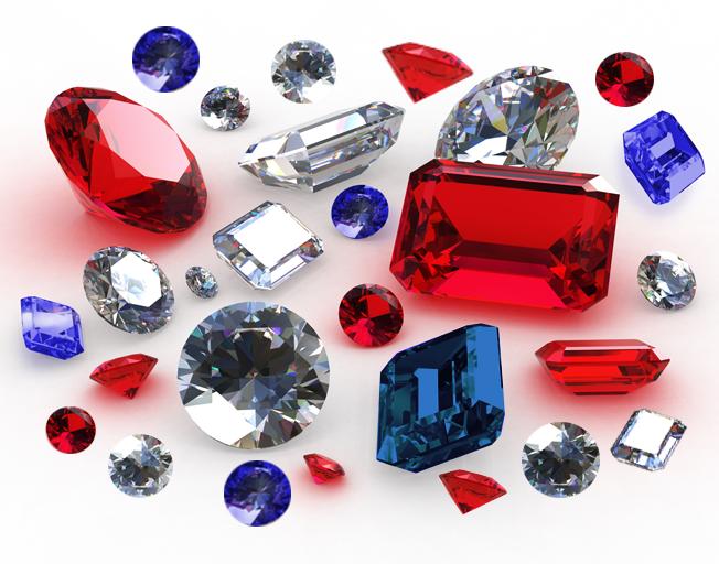 Rubies, Diamonds & Sapphires!